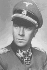 Bild: Wilhelm Bittrich als Ritterkreuzträger.