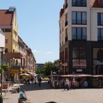 Bild: Im Zentrum von Halberstadt.