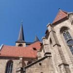 Bild: Blick auf die Martinikirche von Halberstadt.