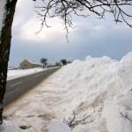 Bild: Winter 2010/2011 - Schneemassen in Greifenhagen.