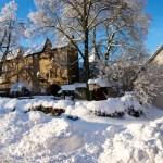 Bild: Winter 2010/2011 - Das Schloss von Harzgerode.