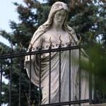 Bild: Pieta auf dem Wiperti-Friedhof zu Quedlinburg.