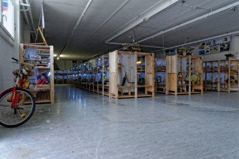 Bild: Spielen ist im DDR Spielzeugmuseum in Aschersleben erwünscht.