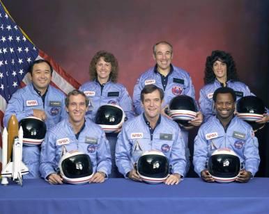 Το πλήρωμα της αποστολής STS 51-L