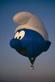 Smurf Balloon