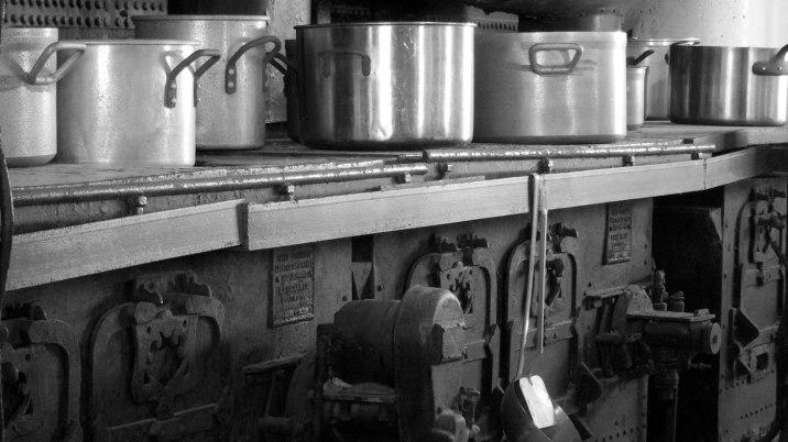 Main-deck galley.