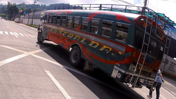 Guatemalan buses are works of art.