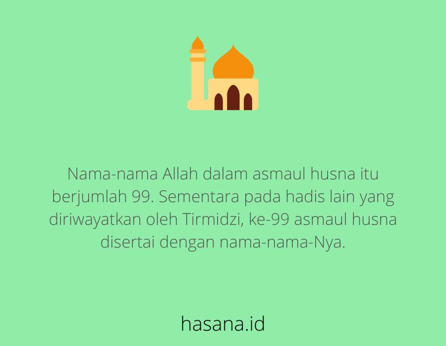 99 Asmaul Husna