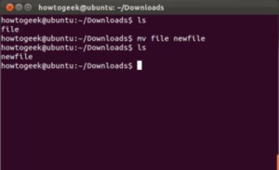 Cara Memindahkan File Folder Ubuntu