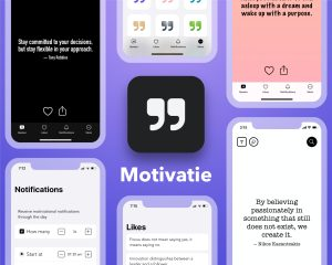 I launched Motivatie, a beautiful quotes app.
