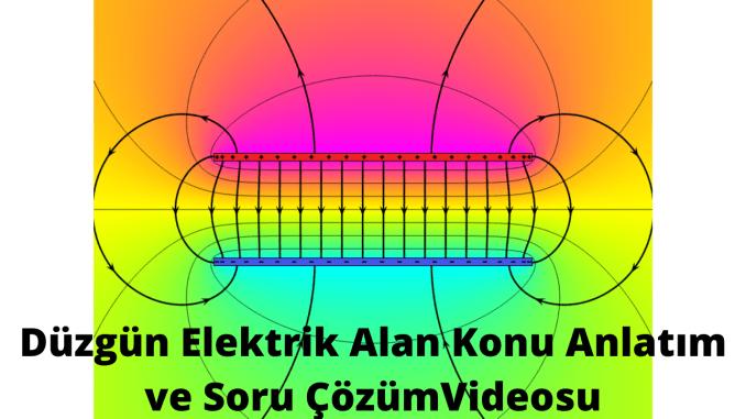 Duzgun Elektrik Alan Konu Anlatim ve Soru CozumVideosu