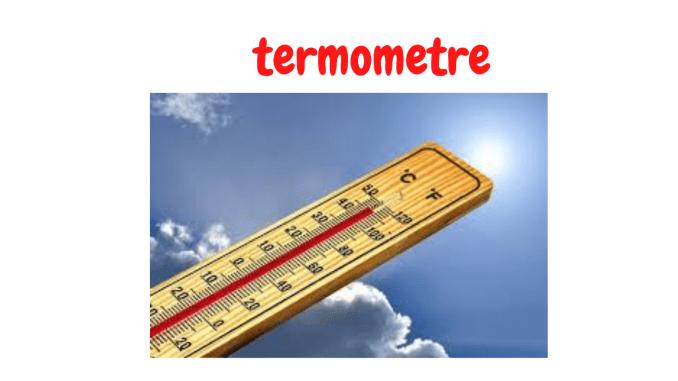 Termometre Dönüşümleri