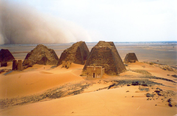Meroe Pyramids, Sudan- Alternatives to great sights