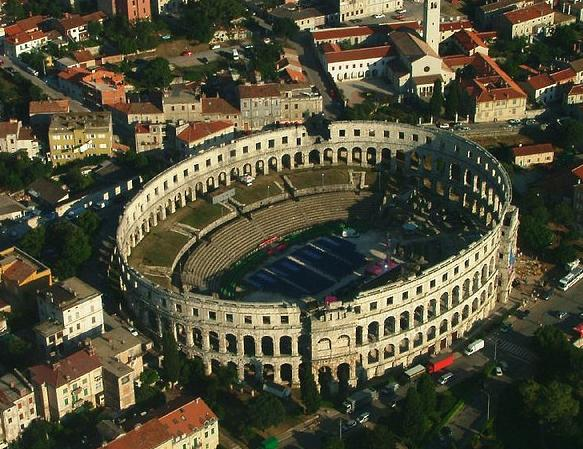 Pula Arena - Alternatives to great sights