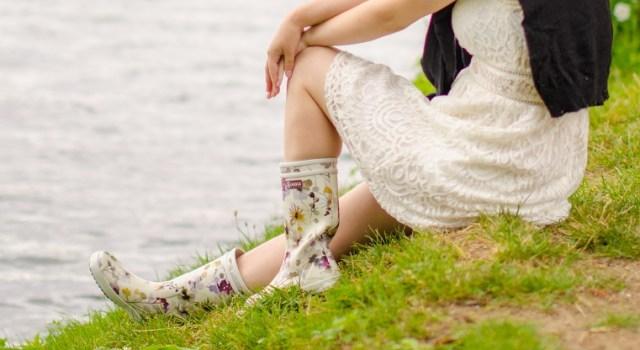 Aigle Gummistiefel im Sommer Kleid