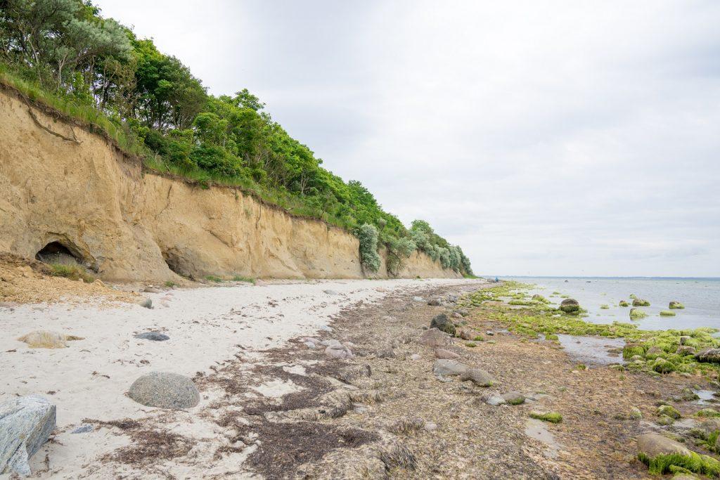 Poel Strand Steilküste
