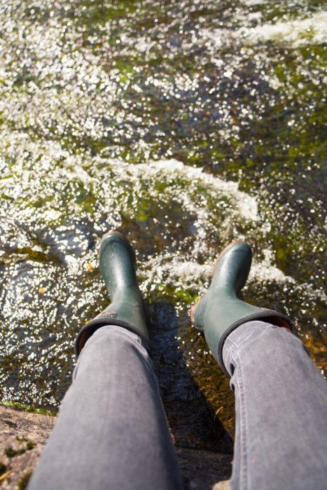 Gummistiefel Aigle Fluss