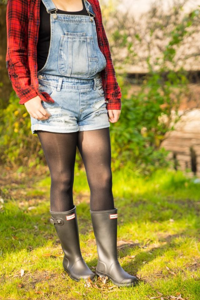 Hunter Gummistiefel Outfit Herbst