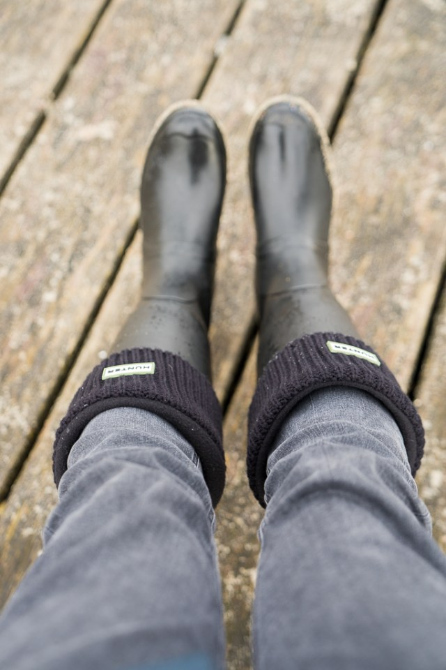 Gummistiefel Hunter Socken Winter 3