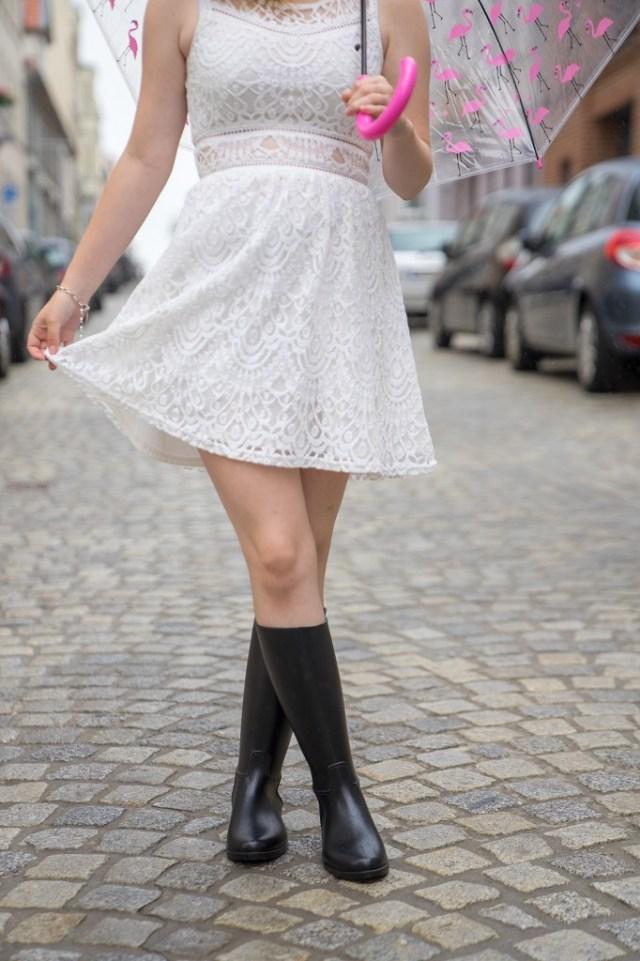 Meduse Gummistiefel Kleid 1