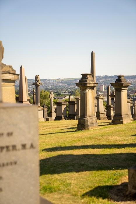 Schottland Glasgow Nekropole