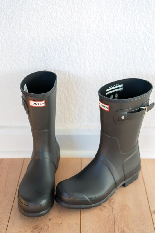 Hunter Short Gummistiefel 2