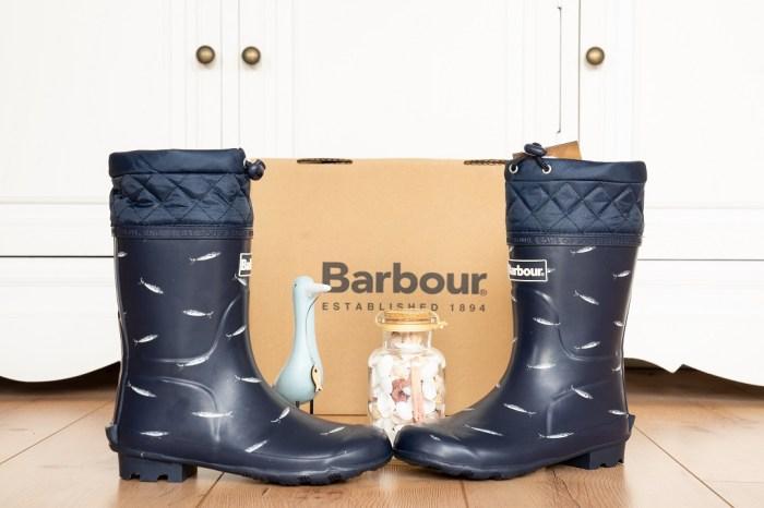 Barbour Gummistiefel Kinder Titelbild