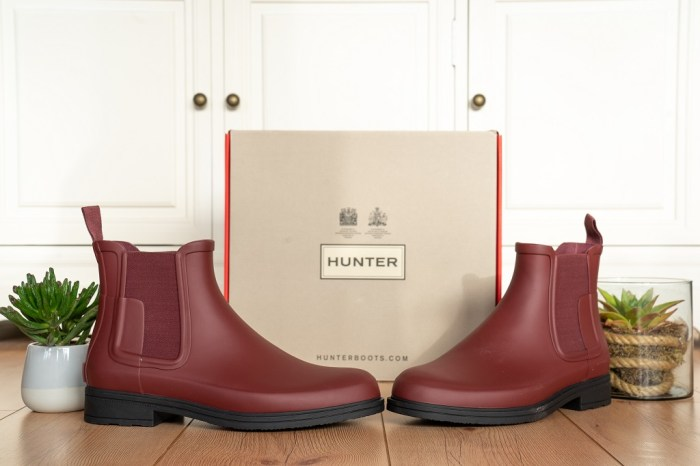Hunter Original Refined Chelsea Boots