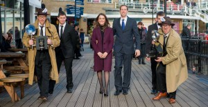 Snaparazzi at Mermaid Quay with 'Wills & Kate'