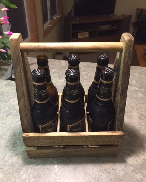 Beer Caddy Side View