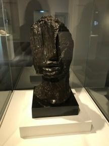 Grande tête tragique by Jean Frautier