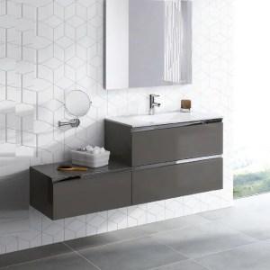 szafka-łazienkowa-160-cm-szary-połysk-z-umywalką-ceramiczną-vida