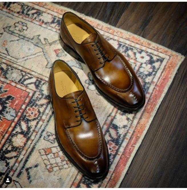 bespoke dress shoes