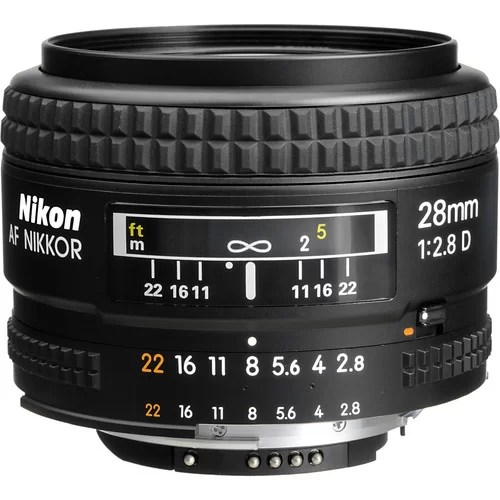 Nikon Wide Angle Lens 24mm F2 8D in Pakistan