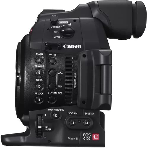 Canon C100 Mark ii Price in Pakistan - Hashmi Photos