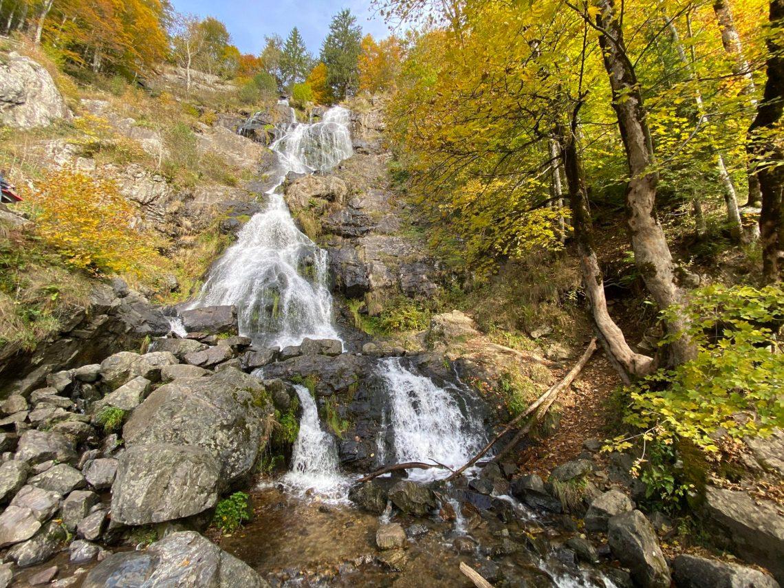Herbst 2020: Todtnau Wasserfälle