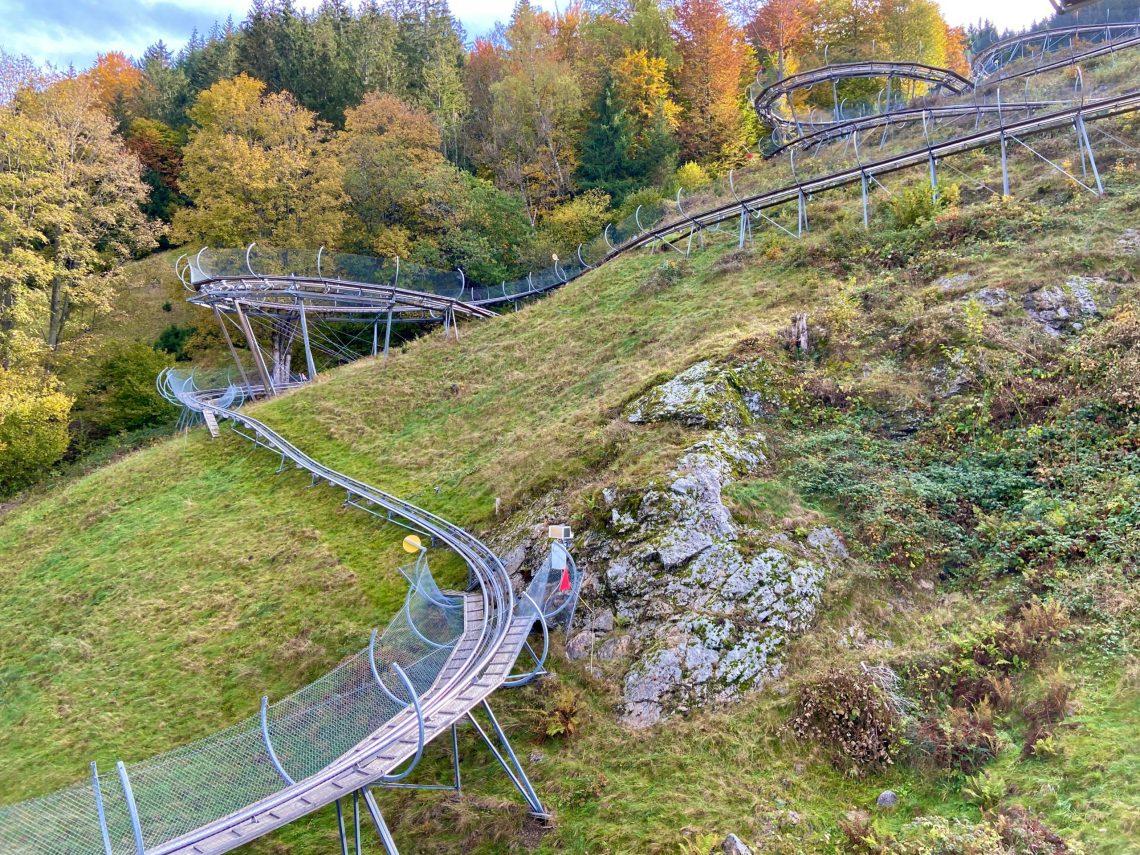Herbst 2020: Hasenhorn-Rodelbahn Todtnau