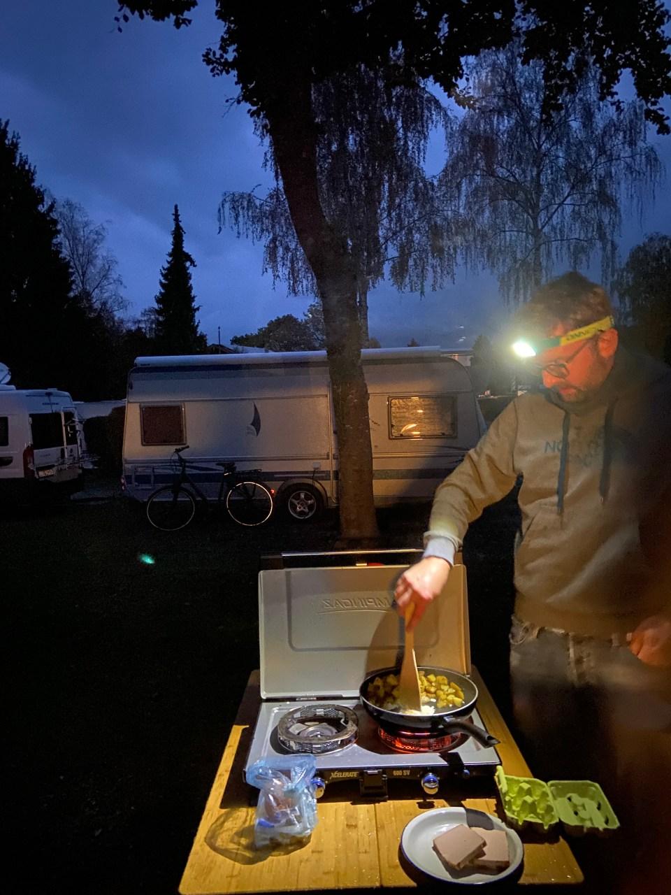 Herbst 2020: Camping Hofbauer Prien Chiemsee