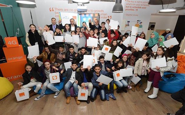 اورانج ترعى تخريج الطلاب المتفوقين في مشروع برمجتي الريادي