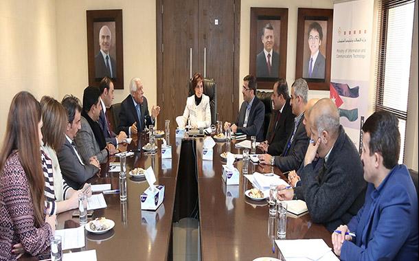 شويكة تدعو الى التعاون والتنسيق لأتمتة خدمات أمانة عمان