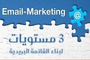 3 مستويات لبناء القائمة البريدية والتواصل الفعال مع الجمهور