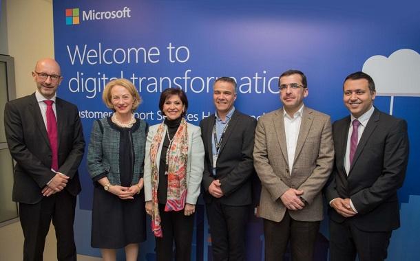 مايكروسوفت تطلق مركز خدمة ودعم العملاء العالمي في الأردن
