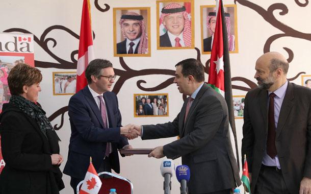 10 ملايين دولار من كندا لدعم التعليم في الأردن