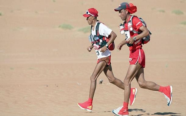 أردني في المركز الأول بماراثون عالمي للجري بين الصخور