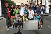 فريق أورانج الأردن بطل سباق تتابع الركض عن فئة نصف الماراثون
