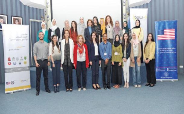 جانب من المشاركين في المشروع- (من المصدر)