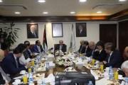 رئيس الوزراء والفريق الاقتصادي يزورون شركة البوتاس