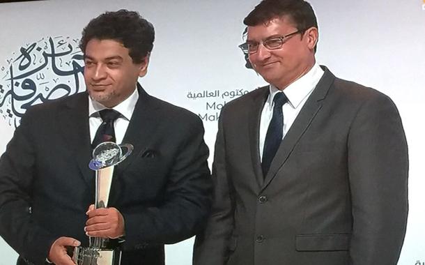 الزميل أمجد رسمي يفوز بجائزة الصحافة العربية في فئة الكاريكاتير- (من المصدر)