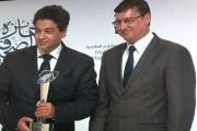 أمجد رسمي يفوز بجائزة الصحافة العربية في فئة الكاريكاتير