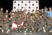 تكريم الفرق الفائزة في مسابقة المحارب السنوية التاسعة بالبحر الميت